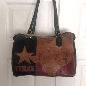 Vintage Texas Purse